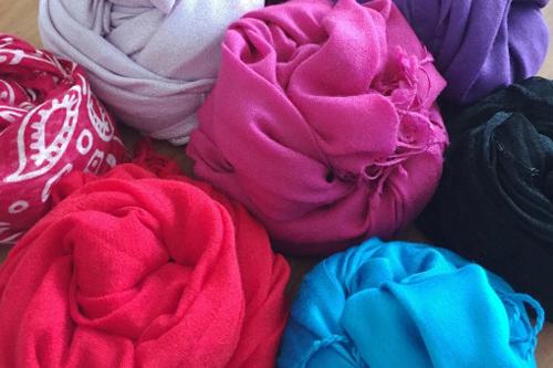 アラフォー女性スカーフやストール