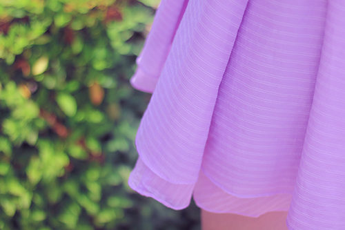 フレアミニスカート