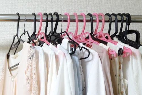 洋服のローテーション