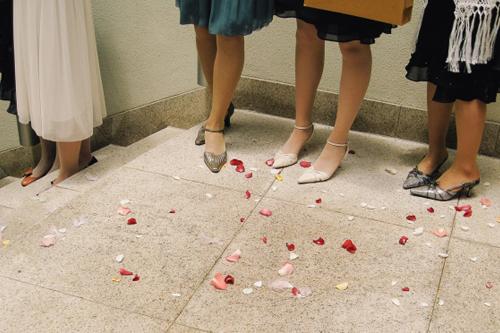 結婚式で素足はダメ