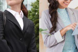 スーツ反対私服