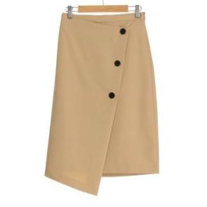 エアクロ初夏コーデラップ風スカート